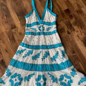 NWT BCBG Max Azria Sequin Stunning Dress!
